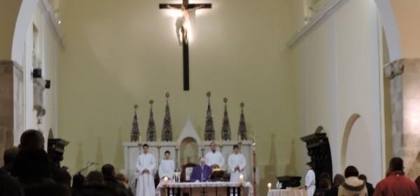 Pepelnica u senjskoj katedrali
