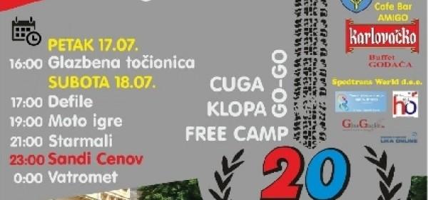 14. tradicionalni moto susret u organizaciji Hrvatskog moto Kluba Otočac.