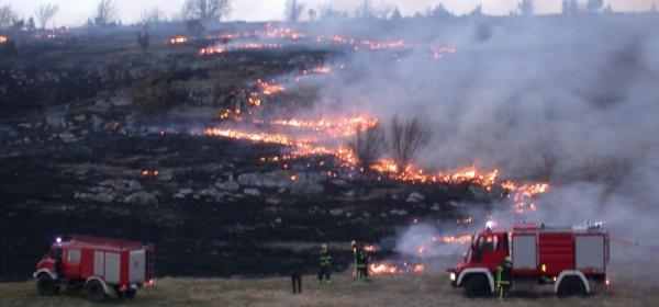 Mjere zaštite od požara na području LSŽ