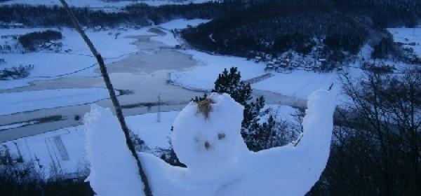 Festival snjegovića: prozorski Corcovado!