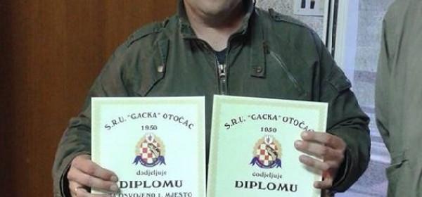 Martin Rašlić-Rašo dvostruki pobjednik natjecanja u ribolovu