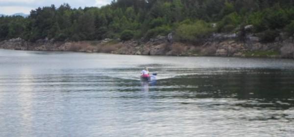 Kišna perušićka regata na Lici