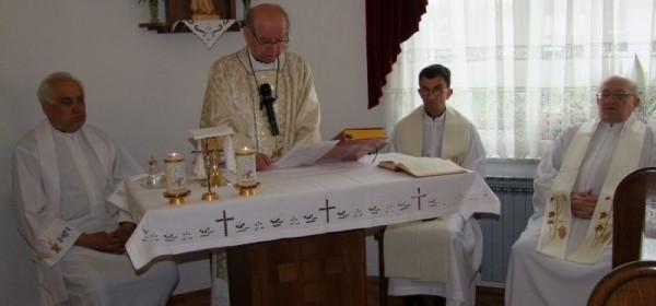 Blagdan Sv.Josipa, radnika proslavljen u Samostanu časnih sestara u Otočcu