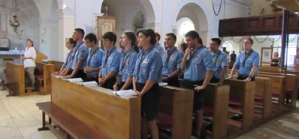 Članovi Talijanskog katoličkog saveza izviđača iz grada Sacile bili u posjetu senjskoj župi Uznesenja BDM