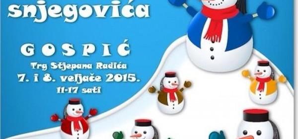 Festival snjegovića i u Gospiću
