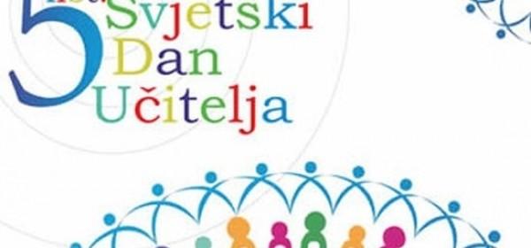 5.listopada - Svjetski dan učitelja