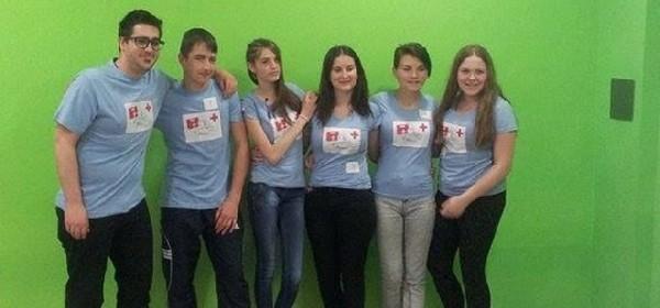 Ekipa VIDA iz Otočca na međužupanijskom natjecanju HCK