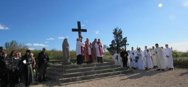 Obredi Velikog petka u senjskoj katedrali Uznesenja BDM