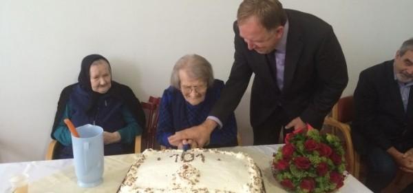 Brigita Dasović proslavila 101 rođendan