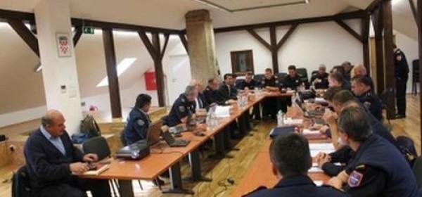 Sjednica operativno-tehničkog stožera Hrvatske vatrogasne zajednice