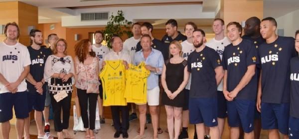 Australska košarkaška reprezentacija u Novalji održala press konferenciju