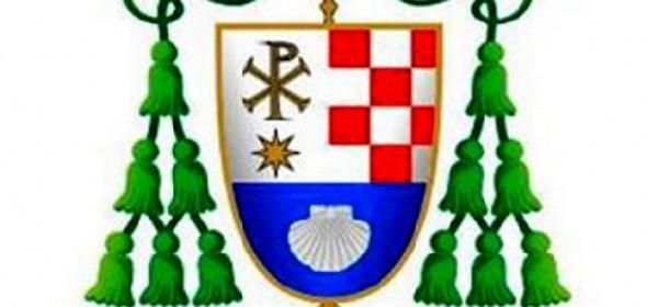 Biskup Rogić dobio grb i odabrao geslo