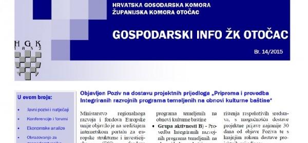 Gospodarski info - 14. broj