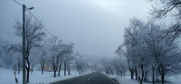 Prva ovojesenja ozbiljna hladnoća u Gackoj