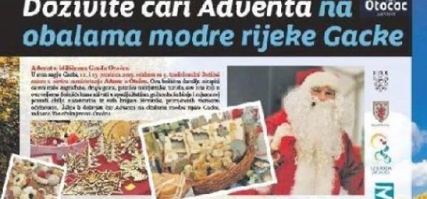 I u Zagrebu o Božićnoj čaroliji u Gackoj