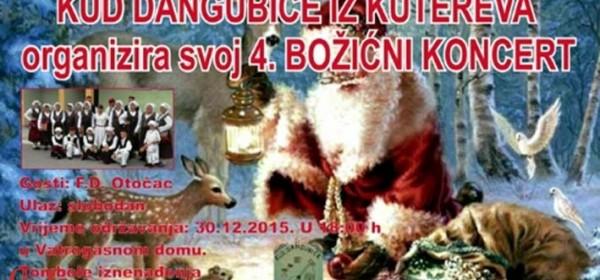 Sutra 4. Božićni koncert u Kuterevu