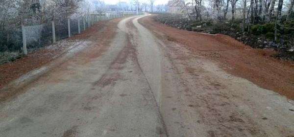 Proširenje ceste u Vrilu
