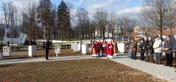 Uvodna besjeda biskupa Bogovića o Gačanskom parku hrvatske memorije