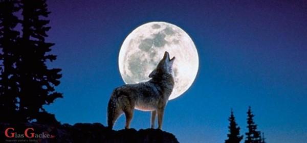 Večeras - vučji mjesec