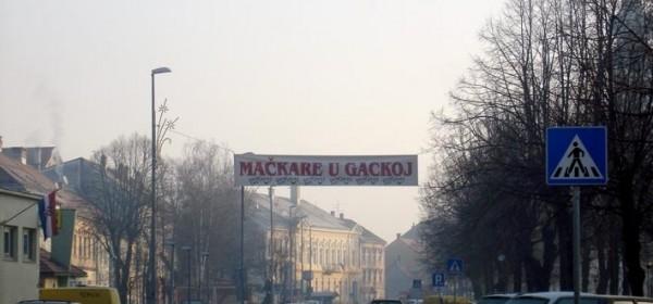Baner jamči Mačkare u Gackoj, uzmaka nema