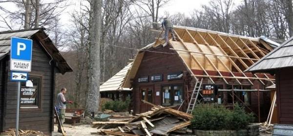 Obnova uslužnih objekata u NP Plitvička jezera