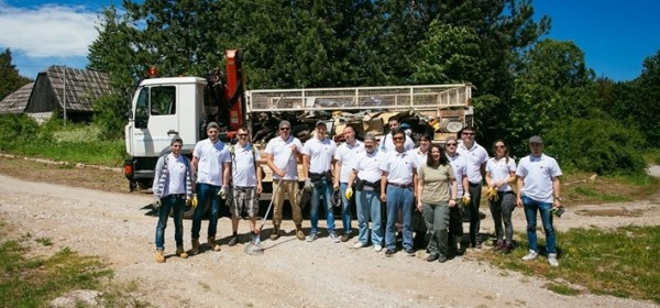 Volonterska akcija čišćenja divljih odlagališta u NP Plitvička jezera