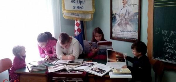 Lipa Sinac želi obogatiti svoju knjižnicu