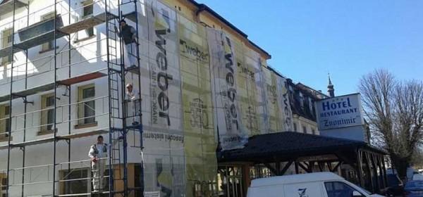 Na Hotelu Zvonimir energetska obnova fasade