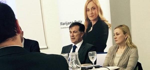 Načelnik Fumić na konferenciji Marijane Petir