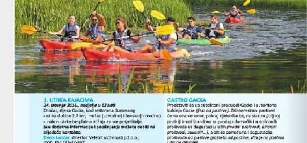 I Vikend van Zagreba o Najbržem veslu Gacke