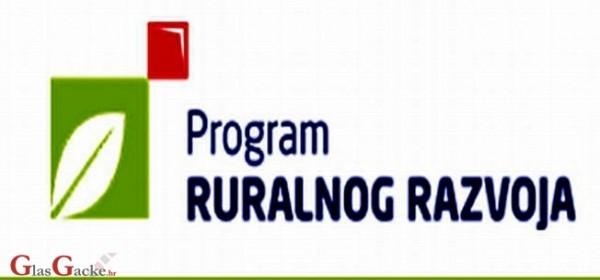 Plan natječaja za Program ruralnog razvoja