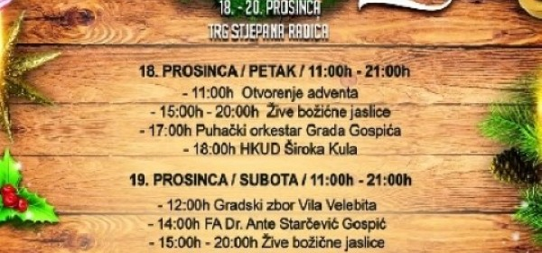 Advent u Gospiću