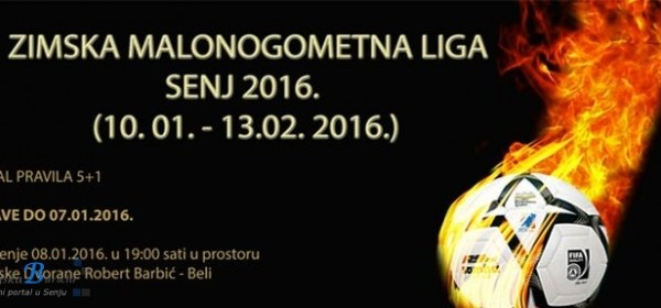 Zimska malonogometna liga Senj 2016
