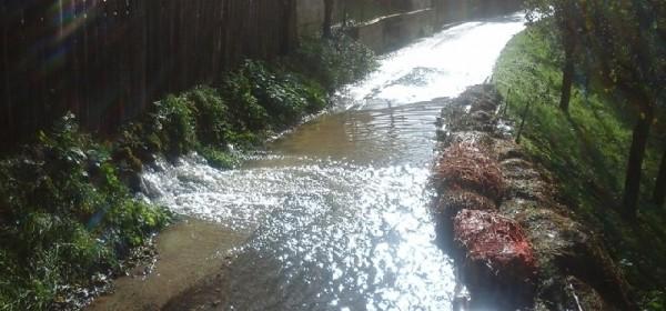 U Dabru seoske ceste i dalje pod vodom