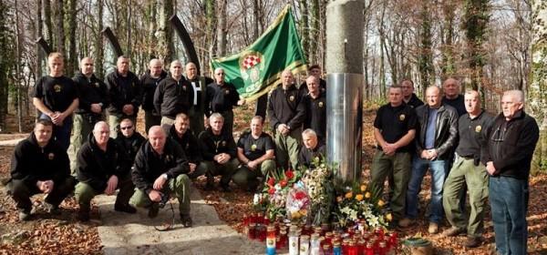 Veterani specijalne policije na Plitvicama