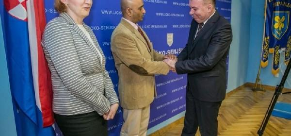 Nastupni posjet veleposlanika Indije Ličko – senjskoj županiji