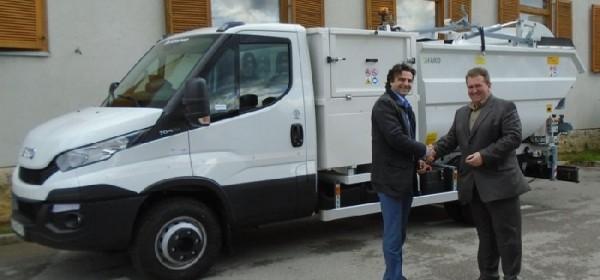 U Brinje stiglo još jedno komunalno vozilo