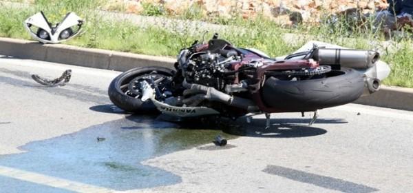 Teško ozljeđen motociklist