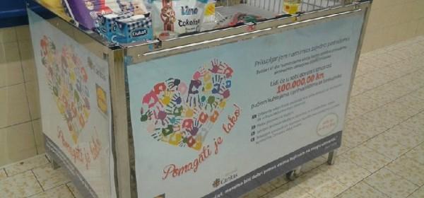 Humanitarna akcija Caritasa i Lidla: Pomagati je lako!