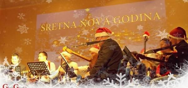 Novogodišnji koncert Tamburaškog orkestra GPOU-a Otočac