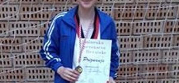Mihaela Bolješić – brončana na državnom prvenstvu