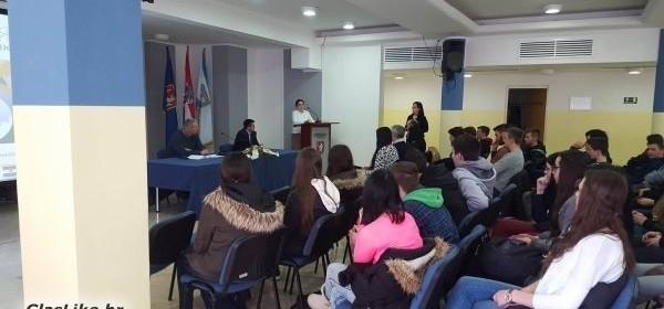"""Održana prezentacija """"Poduzetnički E-inkubator – platforma za razvoj mladih poduzetnika"""""""
