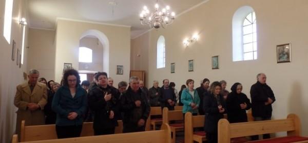 Uskrsna misa u Dabru