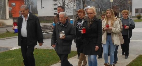 Brinje u spomen na Vukovar