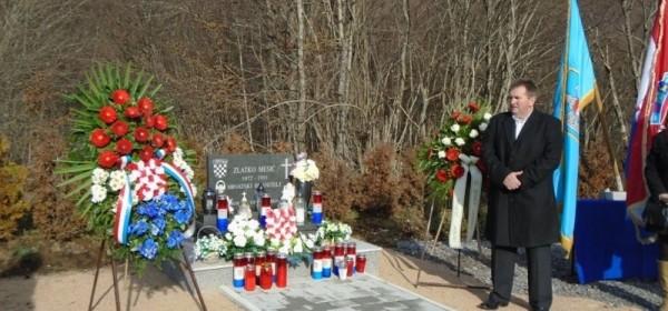 Obilježena 24. godišnjica pogibije hrvatskog branitelja Zlatka Mesić