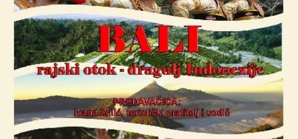 Putopisno predavanje na temu BALI rajski otok–dragulj Indonezije u KIC-u Gospić