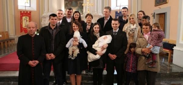 Danas dva krštenja u Župi Otočac