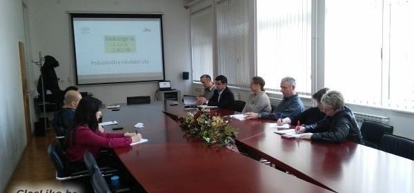 Održan radni sastanak osnivača Poduzetničkog e-inkubatora