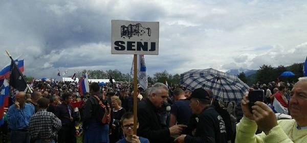 Više od 20 tisuća ljudi jučer na Bleiburgu