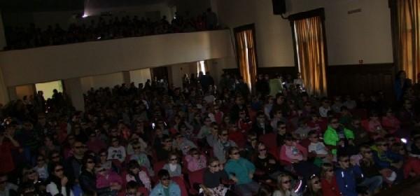 Ups..Noa je otišao! - djeca oduševljena kinom i 3D naočalama